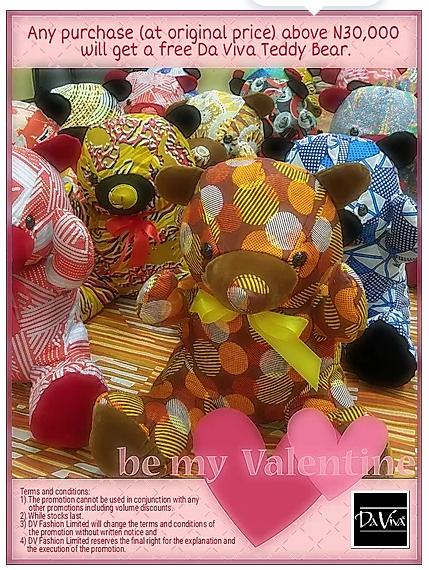 WIN A Da Viva Teddy Bear This Valentine